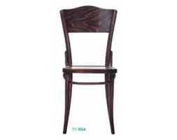 Lekkie krzesło z litego drewna Dejavu