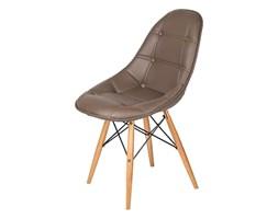 Krzesło King Bath DSW brązowe LI-KK-132PU.BRAZOWY + Transport juz od 8,90 zł