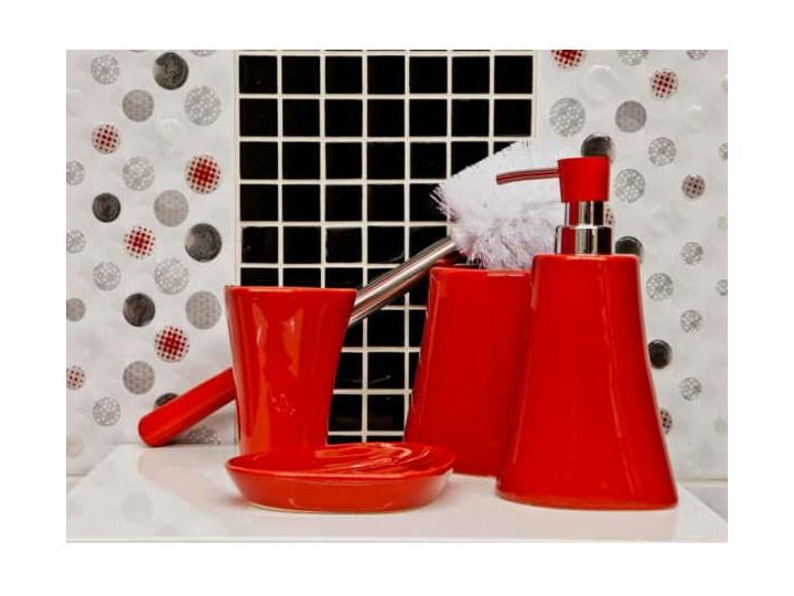 Zestaw łazienkowy Silvia Czerwony