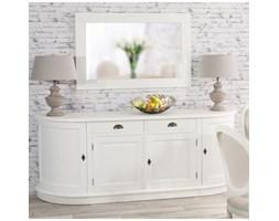 Dekoria Komoda 4 drzwi + 2 szuflady Brighton biała