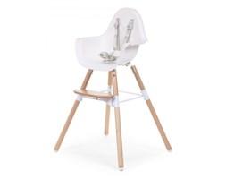 Childhome Krzesełko Evolu drewno/biały