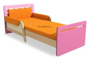 Łóżko rozsuwane - Timoore - Simple Pink