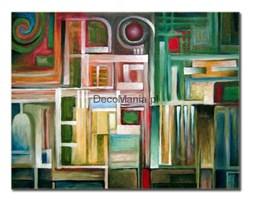 Obraz na płótnie OALK007_11 - Leskos - Abstrakcja aluzyjna