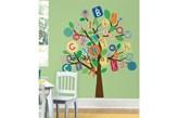 Naklejki dla dzieci RoomMates RMK2057SLM Literkowe drzewo