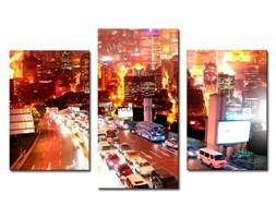 Obraz na płótnie OMI007_33 - Miasto w ruchu