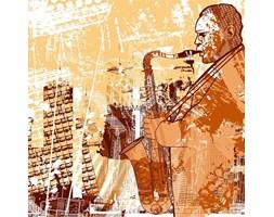 Fototapeta F1291 - Saksofonista 4
