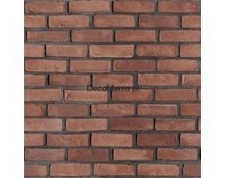 Dekoracja ścienna - Incana brick - Retro czerwony