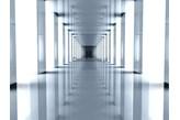 Fototapeta F1029 - Biały korytarz 2