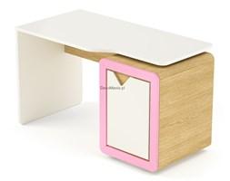 Biurko z kontenerkiem - Timoore - Frame Natural Pink