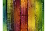 Fototapeta F075 - Kolorowe deski