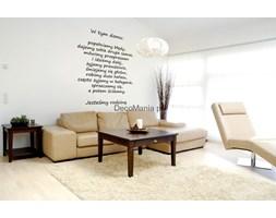 Naklejka na ścianę NSCY004 - Napis: W tym domu...