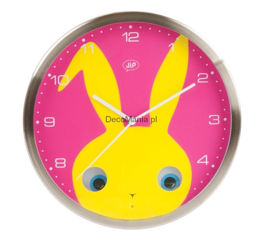 Zegar ścienny jip peekaboo królik