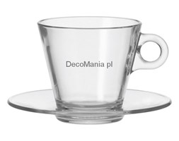 Filiżanka do cappuccino + spodek - Leonardo - Ciao