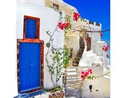 Fototapeta F2251 - Tradycyjna architektura na wyspie Santorini