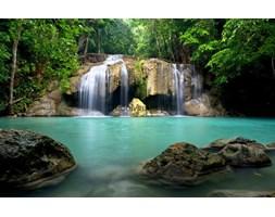 Fototapeta F3462 - Piękny wodospad w Kanchanaburi