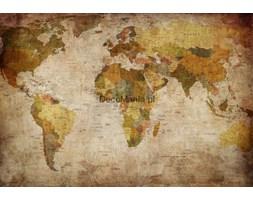 Fototapeta F4072 - Mapa Świata