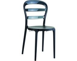 Krzesło - Siesta - Miss Bibi - czarne/czarne