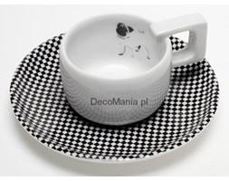 Porcelanowa filiżanka do espresso - MopsDesign - Mops