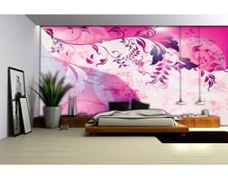 Fototapeta na fizelinie - Bogaty wzór kwiatowy