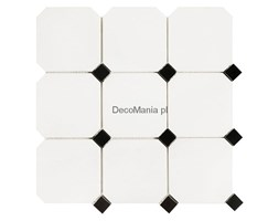 Mozaika kamienna Black&White - Dunin - Pure B&W octagonal 100