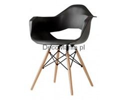 Krzesło - CustomForm - Match Arms Wood czarny