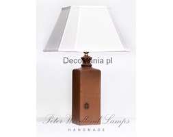 Lampka stołowa - Peter Woodland Lamps - Bottle Brown Matt