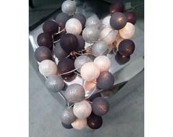 Cotton Ball Lights :: Grey Shadow Silver 35 kul