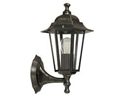 Ogrodowy KINKIET zewnętrzny LAMPA ścienna OPRAWA elewacyjna VELENCE outdoor Rabalux 8234 IP43 złoto antyczne