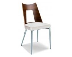 Krzesło Metro białe