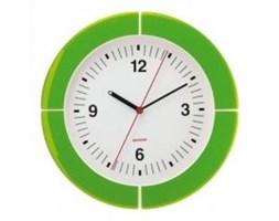 Zegar ścienny, zielony