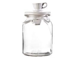 Dekoria Pojemnik Tea szklany wys. 19,5cm