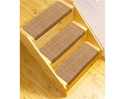 Dywanik na schody, 2 kształty, pakiet 2 lub 4 szt.