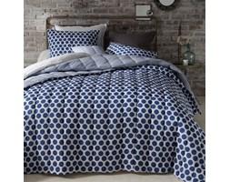 Narzuta z przeszyciami na łóżko, 100% bawełny, Borsa
