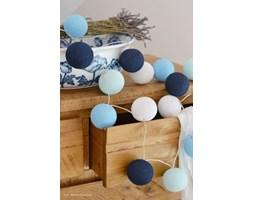 35 kul Big Blue Cotton Ball Lights