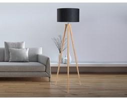 Nowoczesna lampa stojaca - lampa podlogowa w kolorze czarnym - oswietlenie - NITRA
