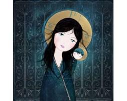 Madonna Turkmeńska - grafika