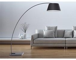 Lampa stojaca - podlogowa w kolorze czarnym - oswietlenie - BENUE