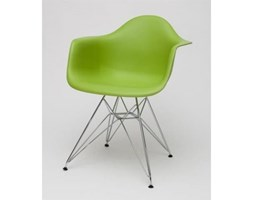 D2 EPA Krzesło P018 zielone, chromowane nogi - EPA_DAR_zielony.