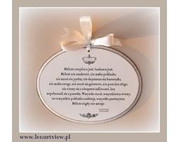 (Hymn o miłości / List św. Pawła do Koryntian) Miłość jest cierpliwa, Miłość jest dobrotliwa, nie zazdrości ...