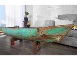 IiNTERIOR Drewniana Ława W Kształcie Łódki Bali 150x55 cm Drewno Teak - i22744