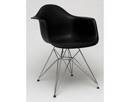 Krzesło inspirowane DAR P018 Czarne