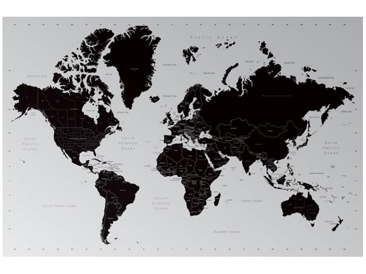 Współczesna Mapa Świata - Podział Polityczny - plakat