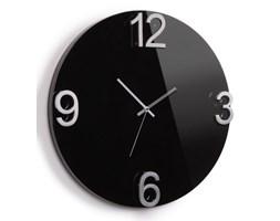 Umbra Elapse Czarny Zegar Ścienny Drewno Metal 47 cm - 118420-037
