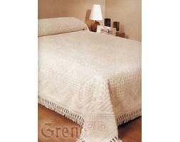 Narzuta bawełniana na łóżko - Greno - Aro New