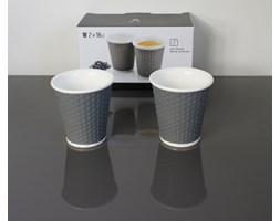 Filiżanki do kawy - 180 ml - 2 szt. szare