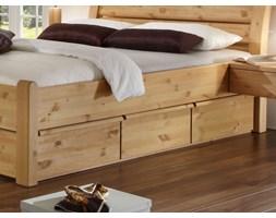Łóżko Pine Furniture - Niemcy z pojemnikiem - Seart.pl