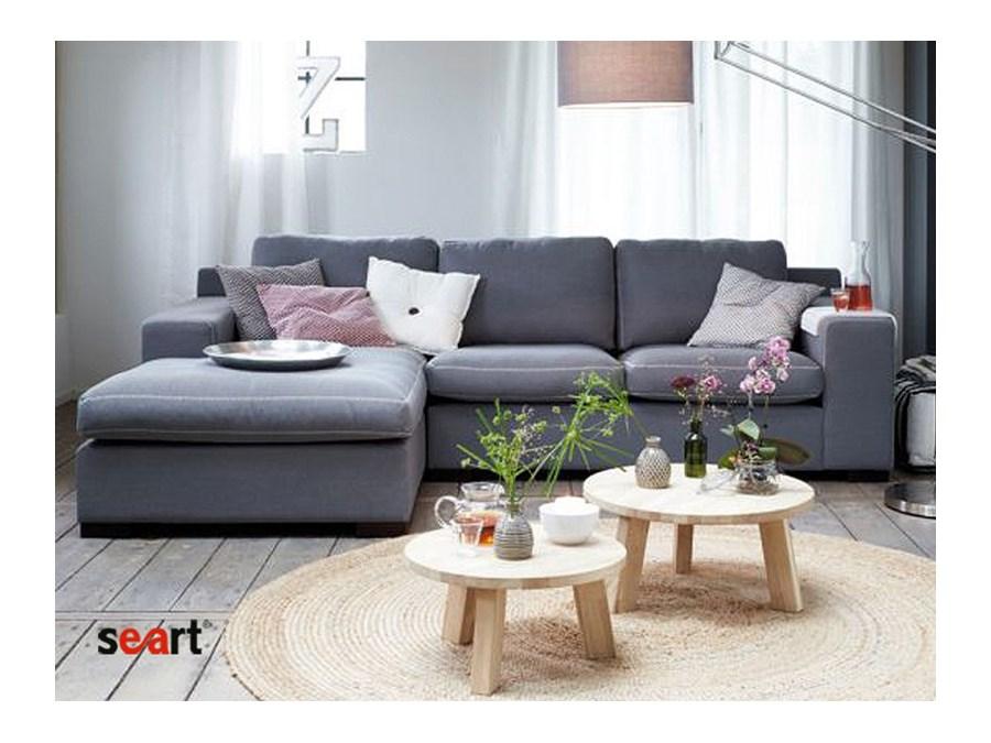 Szara Sofa naro u017cna tapicerowana Kris   Sofy i kanapy   zdj u0119cia, pomys u0142y, inspiracje   Homebook