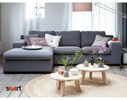 Szara Sofa narożna tapicerowana Kris