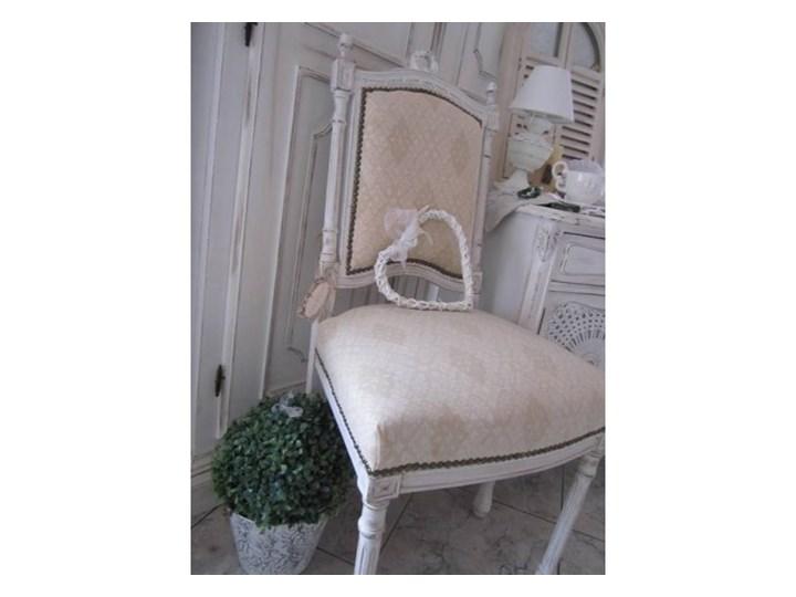 Stylowe Krzesło Na Toczonych Nogach