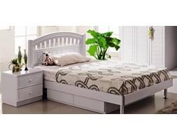 Łóżko z szufladami i szafką nocną z kolekcji FIORI 120